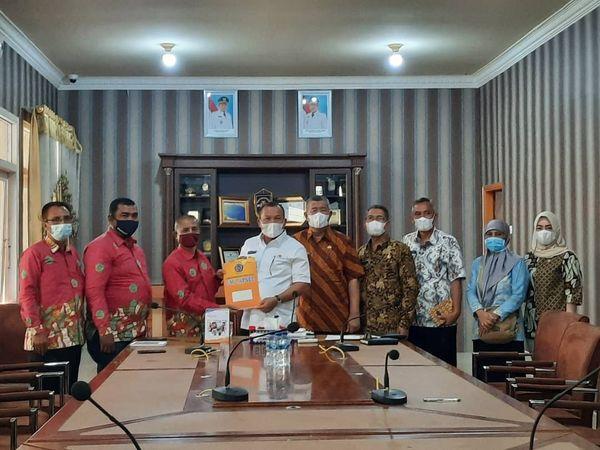 Penjajakan MoU dengan Walikota Sibolga